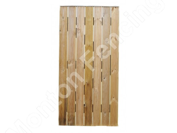 Straight Ribbed Decking