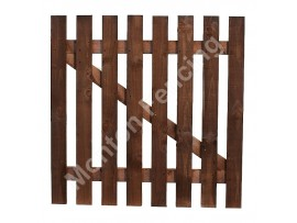 Straight Picket Gate