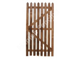 Pointed Picket Gate