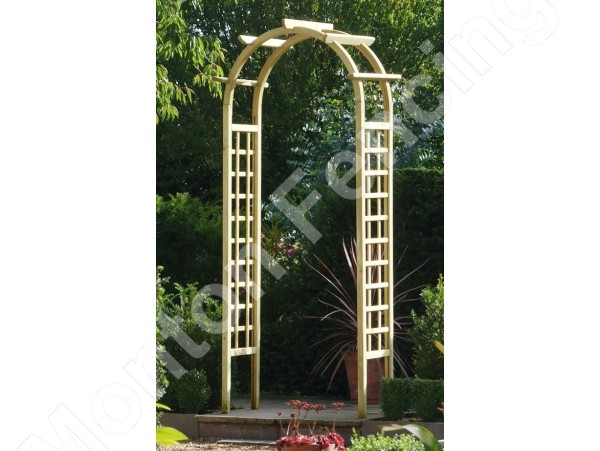 Round Top Rose Arch