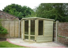 Corner Summerhouse 9ft x 9ft
