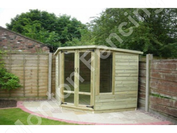 Corner Summerhouse 10ft x 10ft