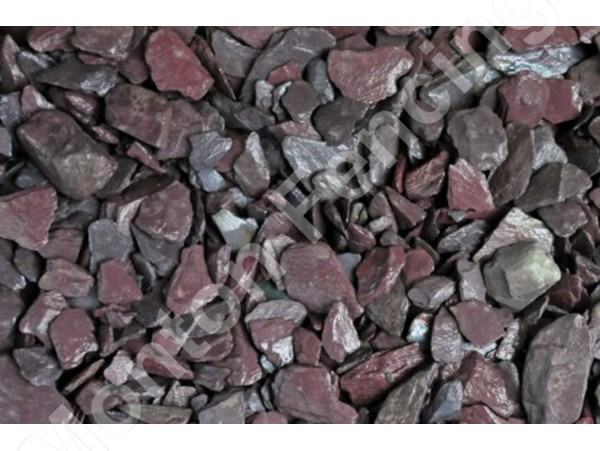 Plum Slate Chipping