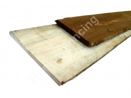 Waney Lap Fence Boards