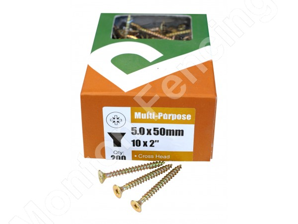 Wood Screws 10 x 2""
