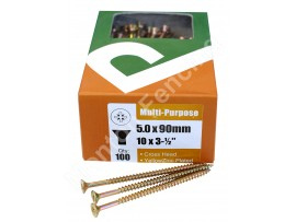 Wood Screws 10 x 3 1/2""