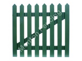 Planed Picket Gate
