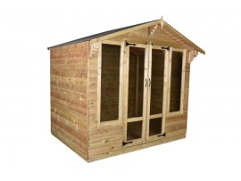 Tanalised Summerhouse 8ft x 8ft